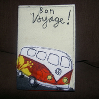 Passport cover - Camper van