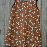 Polly goes to Paris A line dress 4-5 years