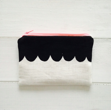 scallop coin purse