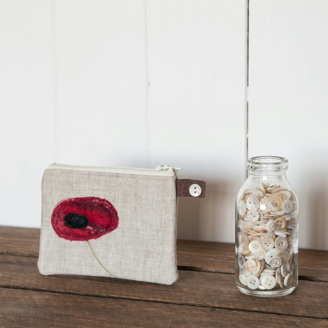 Little Poppy Purse