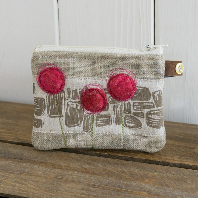 Little Pink Alpines and Drystone Purse