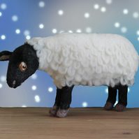 Shauna the Sheep needle felting kit