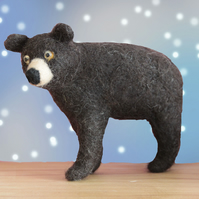Bruce the Bear needle felting kit