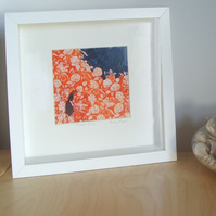 Field Girl Framed Print