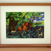 SALE NOW 20% OFF! Herne the Hunter - Framed Print