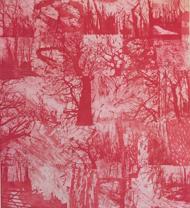 SALE 20% OFF! Worsley Woods - large etching