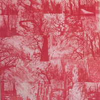 Worsley Woods - large etching