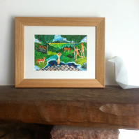 Beyond the Mind - Framed Print