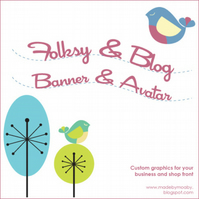 Folksy Banner and blog