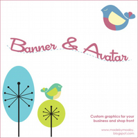 Folksy Banner and Avatar Pack