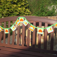 Dinosaur Bunting for Boys -141 142 143
