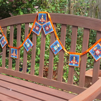 Robot  Bunting for boys - 146