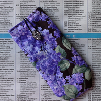 Glasses or Sunglasses case with Hydrangeas - 79