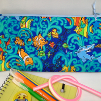 Nemo Pencil case with contents - 137