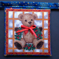 Teddy Bear   Christmas Bunting 450