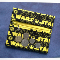 Star Wars wrap around coin purse 529