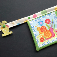 Easter or Spring Bunting 49A