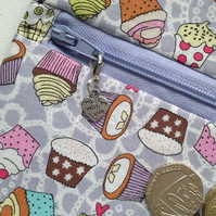 Cupcake  wrap around coin purse 520