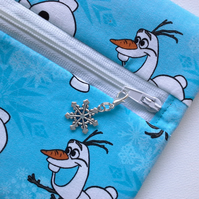 Frozen Olaf  wrap around coin purse 525