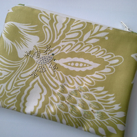 Make up bag  with frog 71A