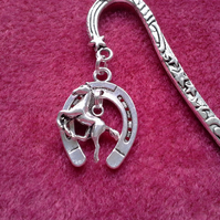 Lucky Horseshoe and Pony bookmark 187A