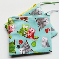 Owl coin purse 118B 119B