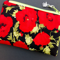 Poppy coin purse 504C