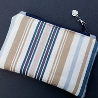 Stripey coin purse 80E