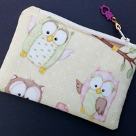 Owl coin purse 81E 82E