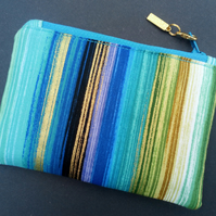 Stripey Coin Purse 98E