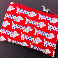 Dachshund coin purse 120E 122E