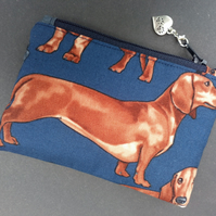 Dachshund coin purse 123E