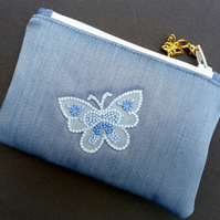 Butterfly coin purse 116E
