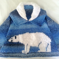 Polar Bear Sweater Knitting Pattern
