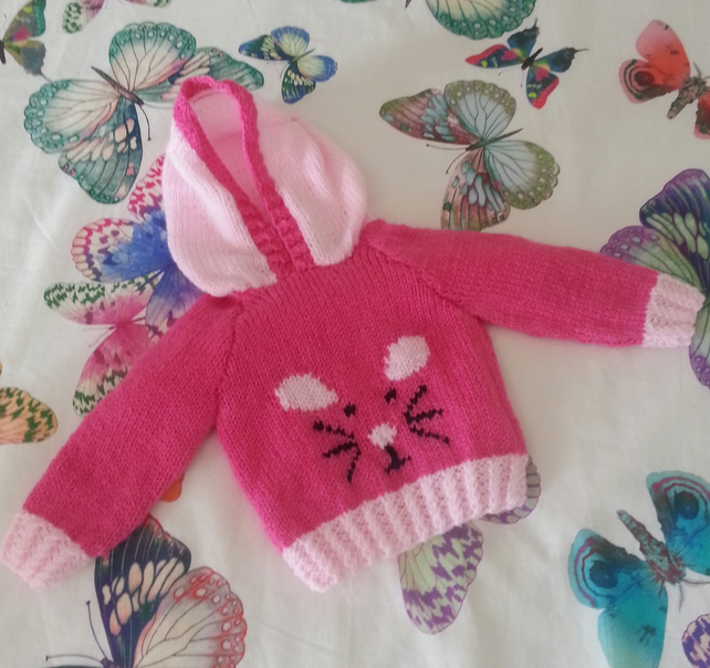 Mouse Hoodie Knitting Pattern