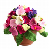 Knitting Pattern for Forever Flowers