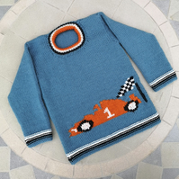 Racing Car Sweater