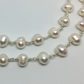 Bridal Pearl Necklace Long Necklace Freshwater Pearls