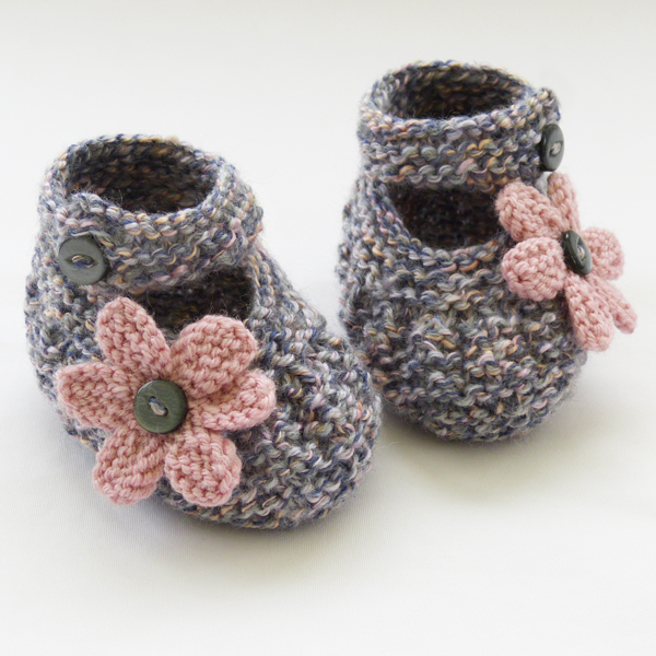 Knitting Pattern Felted Baby Booties : Hand Knitted Baby Shoes-Booties - Folksy