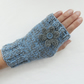 Hand Knitted Fingerless Gloves-Mittens