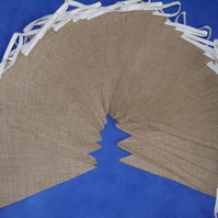 50ft (15m) Hessian Burlap Bunting