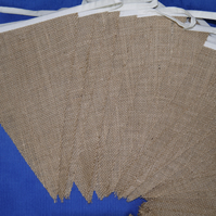 10ft (3m) Hessian Burlap Bunting