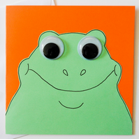 Greeting card - Cute Frog Card