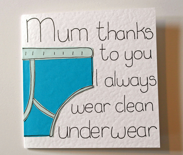 Mothers Day Card Mum Funny Birthday For Mom Greeting CardHumourous