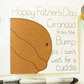 Grandad To Be Father's Day Card, Grandfather Father's Day Card
