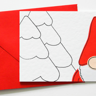 Nordic Santa Christmas cards, ChildrensThank you Cards