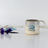 Fairy Tale Mug - The Wild Swans - Hans Christian Andersen - illustrated ceramics