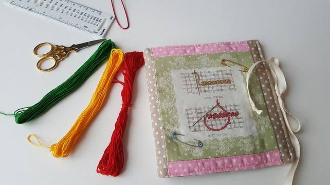 Needle book, sewing needle book, pin cushion