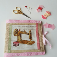 Sewing needle book, pincushion