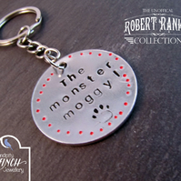Monster Moggy Keyring, Robert Rankin Keyring